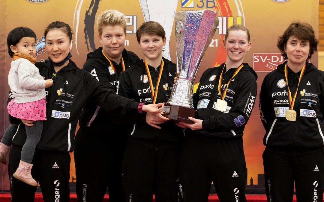Berlin gewinnt DTTB-Pokal der Damen
