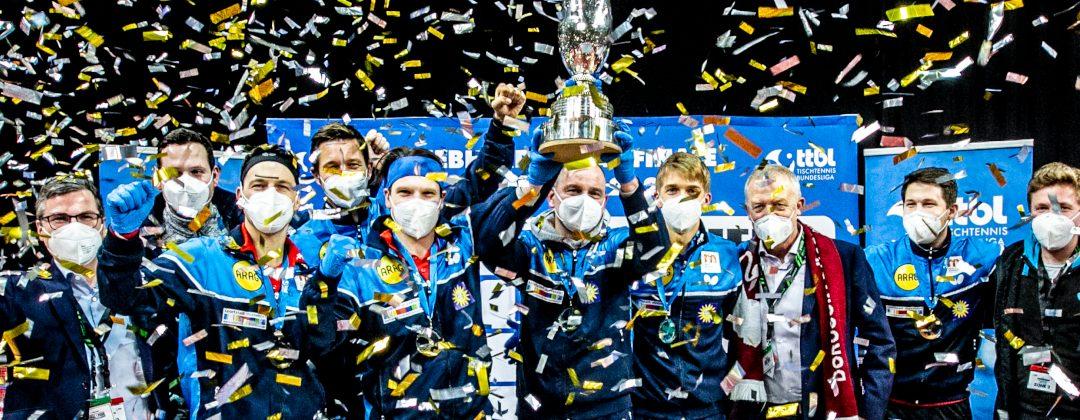 Düsseldorf gewinnt DTTB-Pokal der Herren