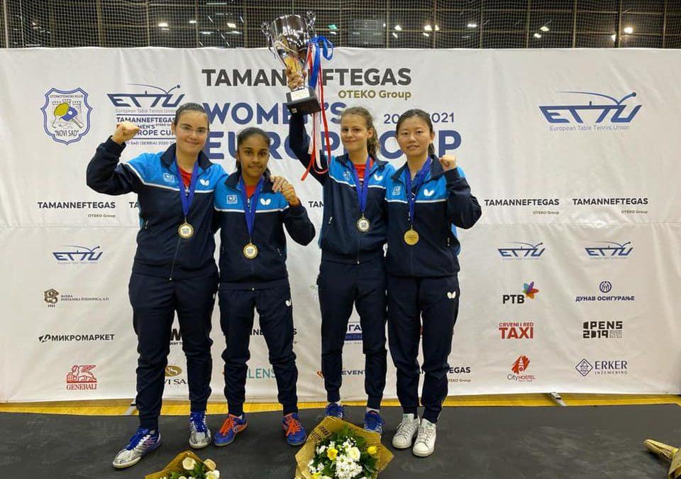 Saint-Denis gewinnt Europe Cup der Damen