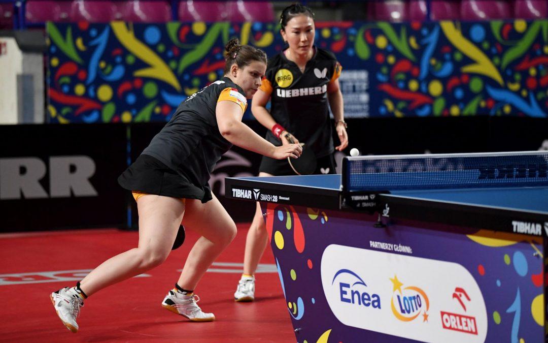 Shan und Solja gewinnen EM-Gold im Damen-Doppel