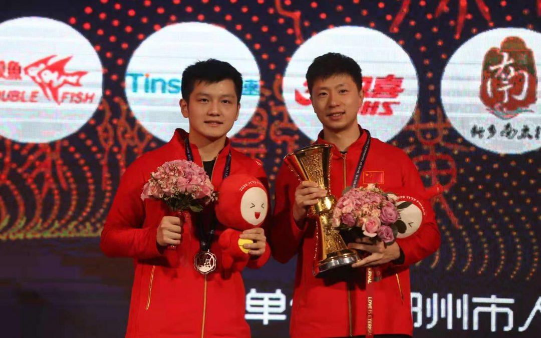 Ma Long und Chen Meng siegen bei den ITTF Finals