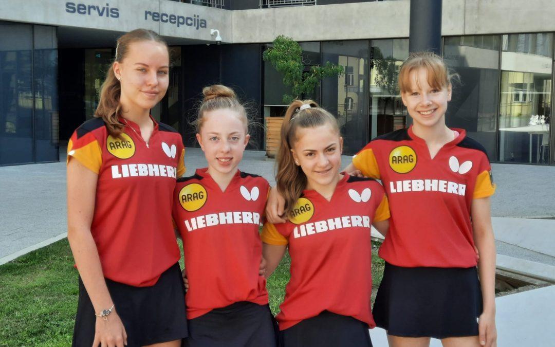 Fünf Schüler-Medaillen bei der Jugend-EM