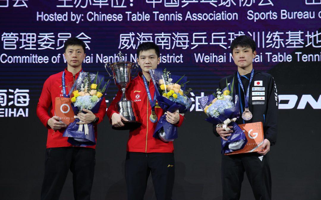 Fan Zhendong siegt beim Men's World Cup