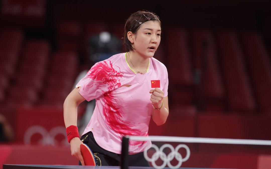 Chen Meng wird Olympiasiegerin im Damen-Einzel