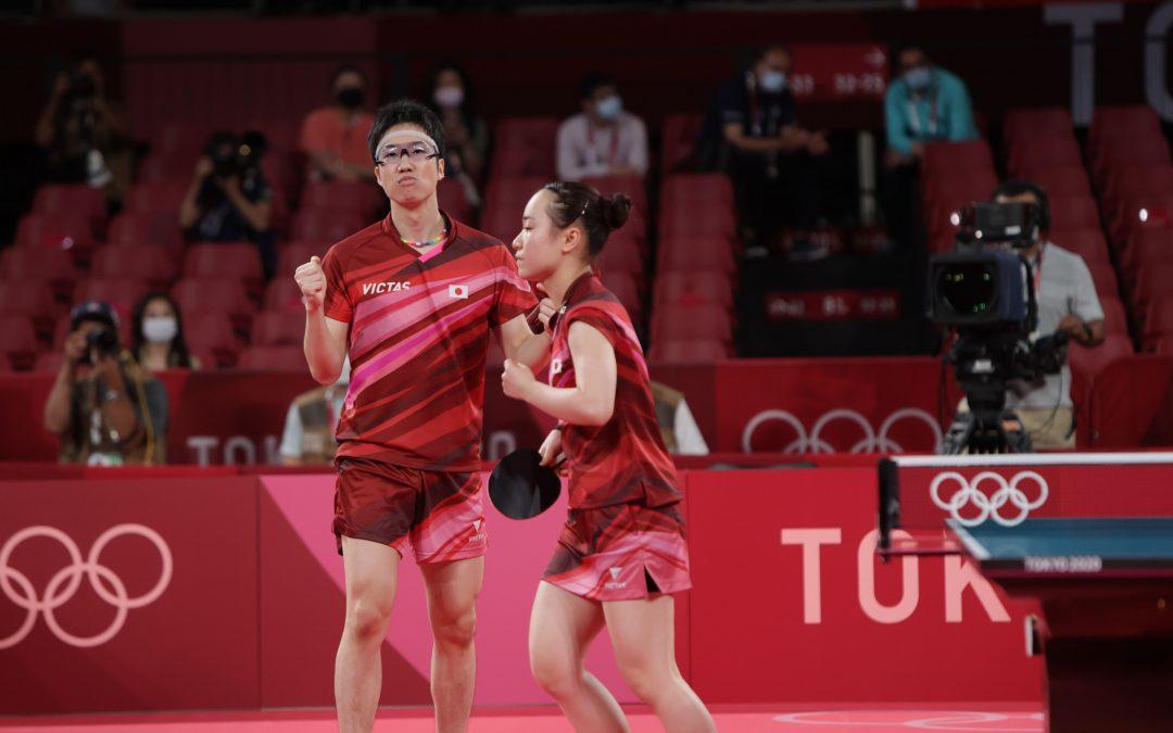 Olympisches Mixed-Gold für Mizutani/Ito