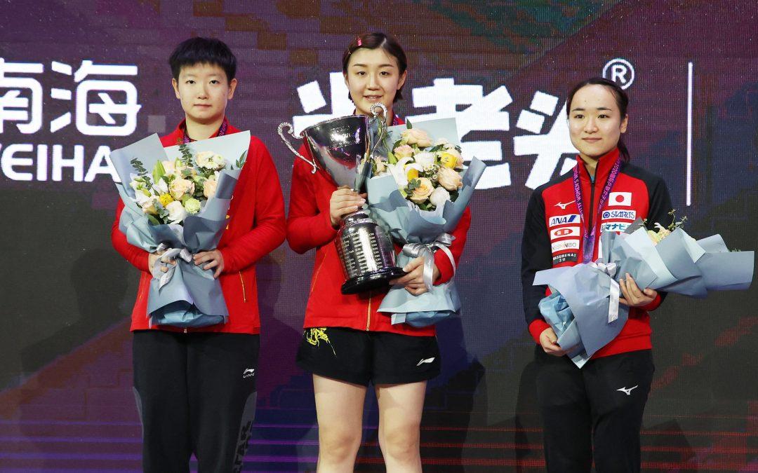 Chinesischer Sieg durch Chen Meng beim Women's World Cup